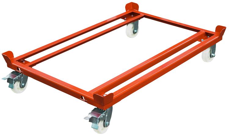 Paletten-Fahrgestell ohne Verbindungsstange